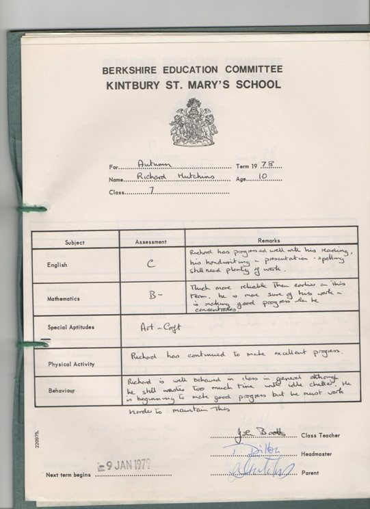 richard-school-report-autum-1978-kintbury