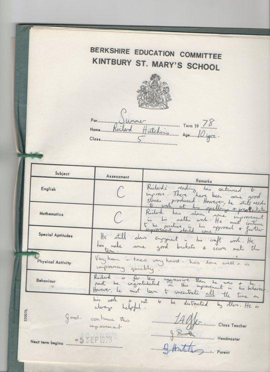 richard-school-report-summer-1978-kintbury