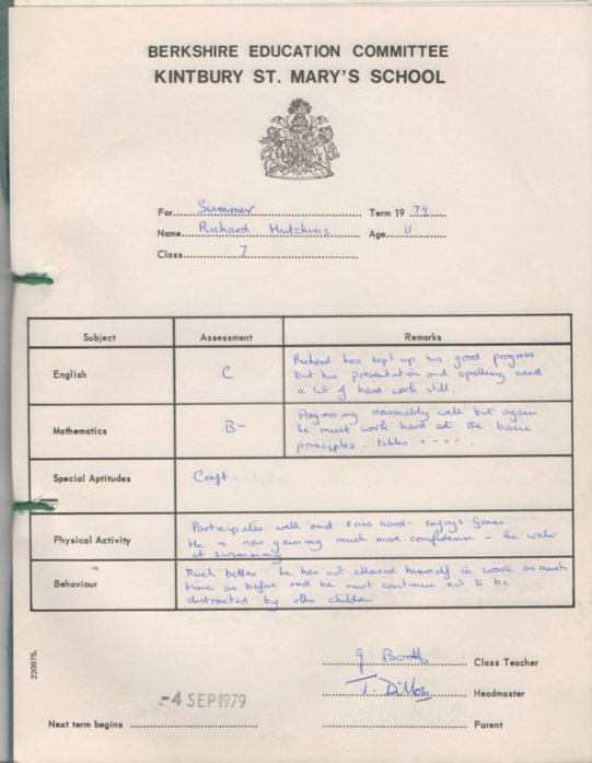 richard-school-report-year-1979-kintbury