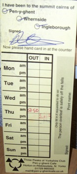 clocking-in-card