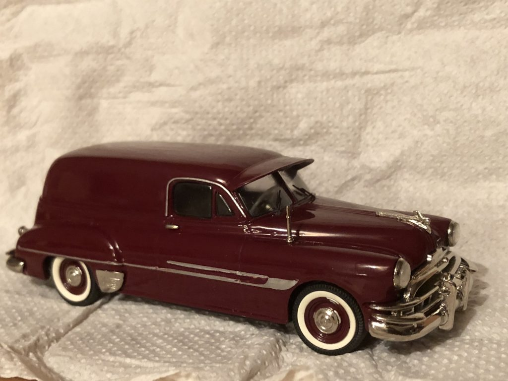 1952 Pontiac Sedan Delivery Deep Maroon