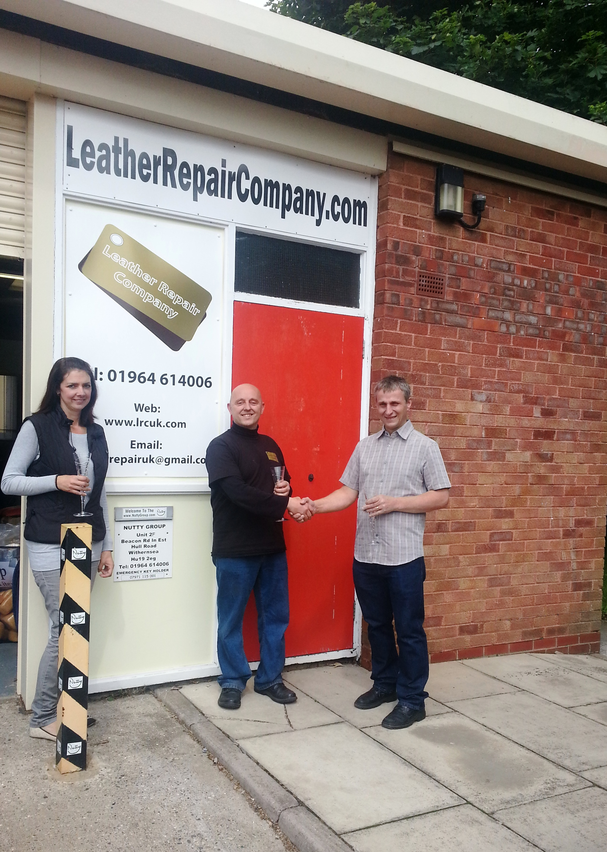 Leather Repair Company Doncaster Franchise Opens, South Yorkshire