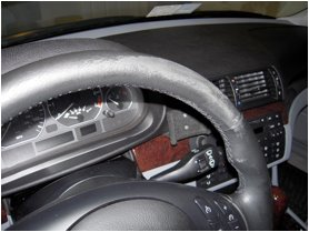 Leather Steering Wheel Restoration Professionals
