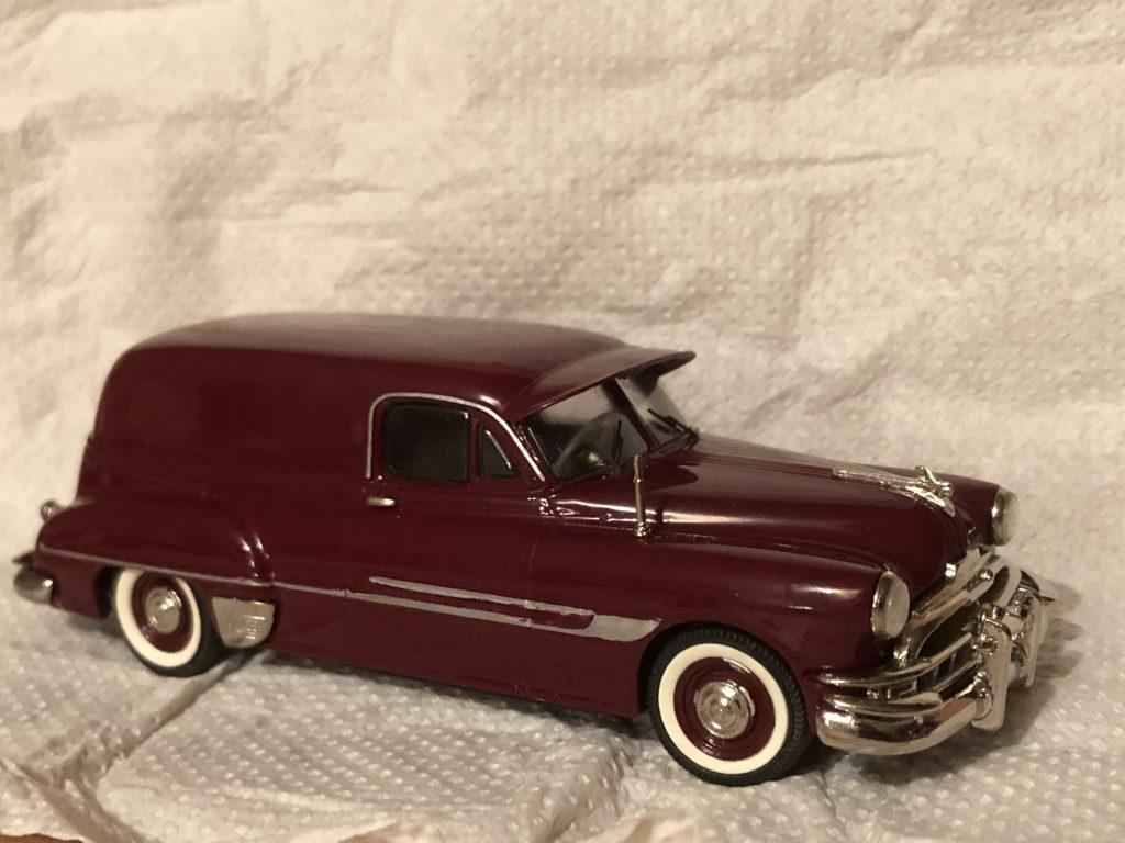 1952 Pontiac Sedan Delivery Deep Maroon