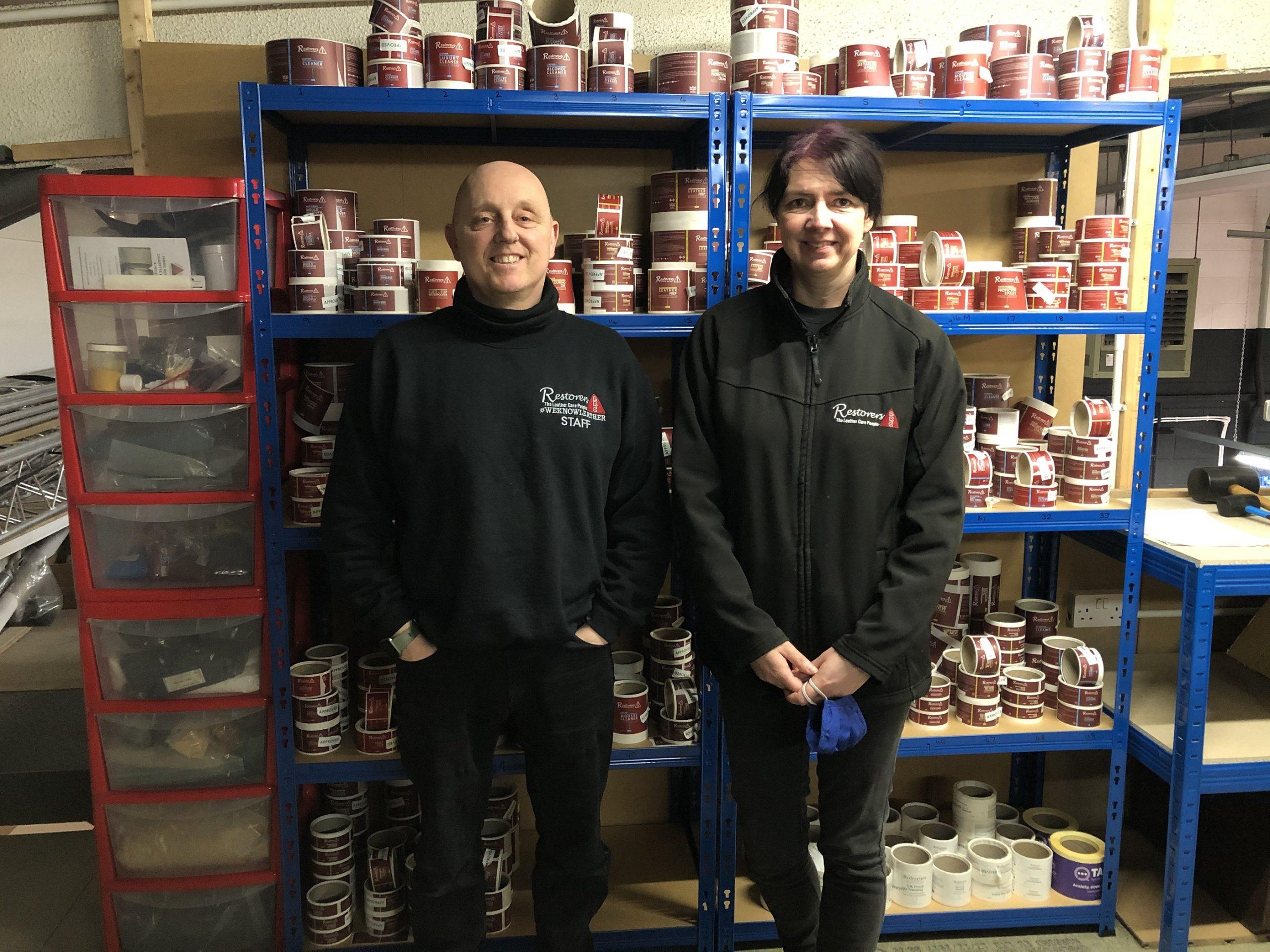 Richard & Carolynne Hutchins Leather Repair Company Hull